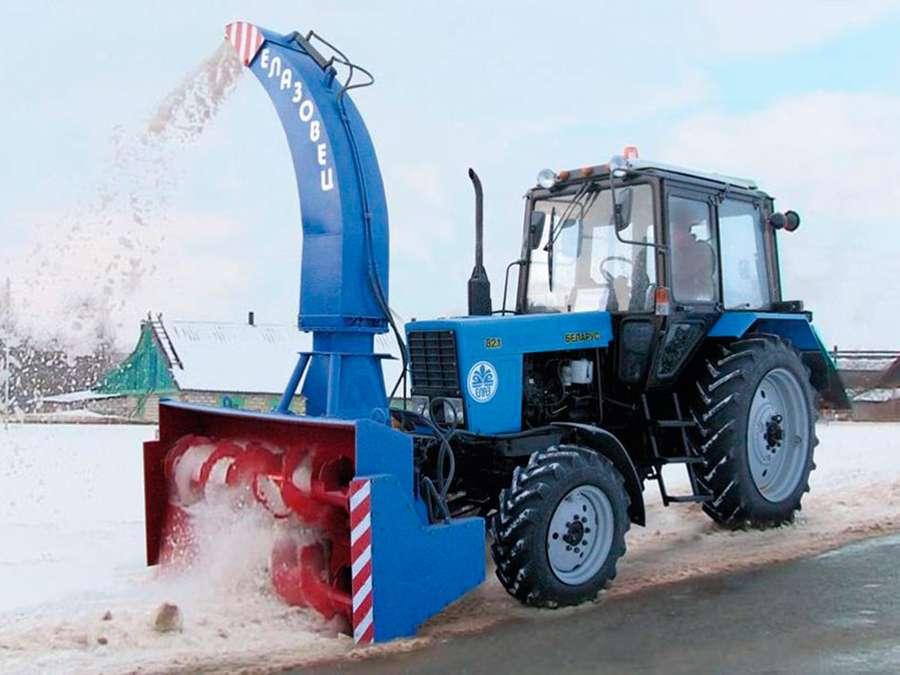 Колёсный трактор
